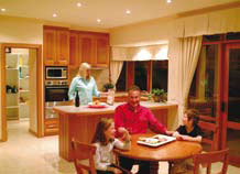 The Armadale Kitchen and Meals Area | QCD Homes